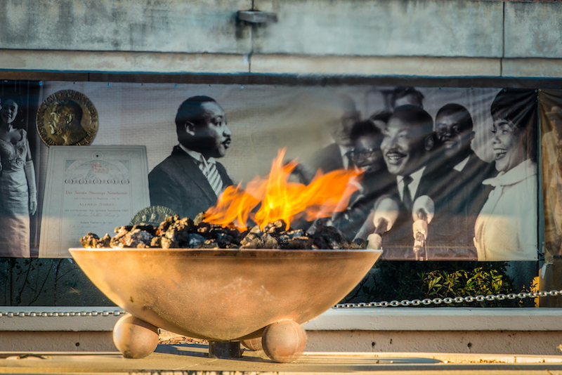 Eternal Flame at Martin Luther King National Historic Site